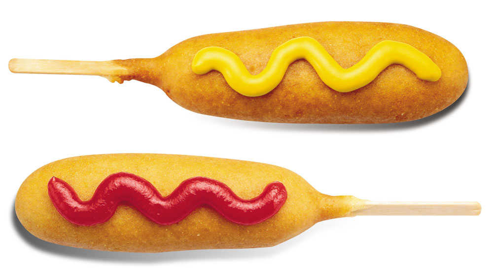 how to make corn dogs at home