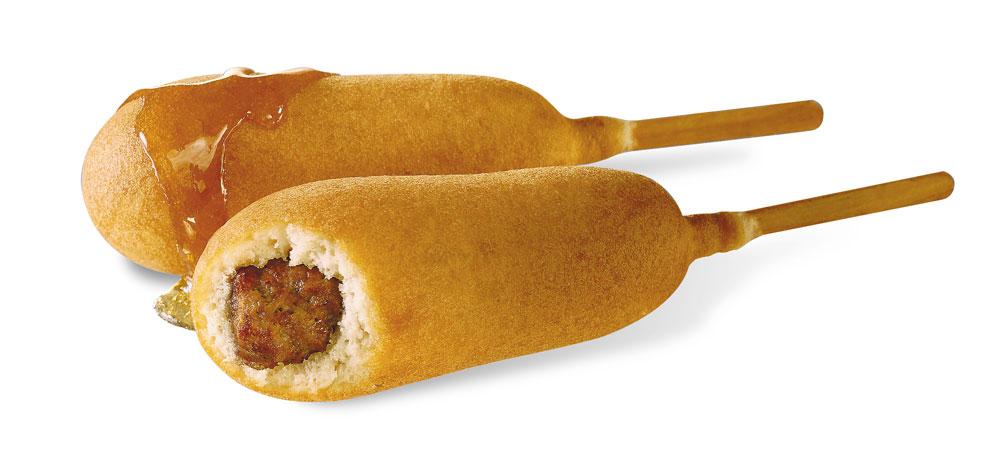 Breakfast Corn Dogs Recipe — Dishmaps